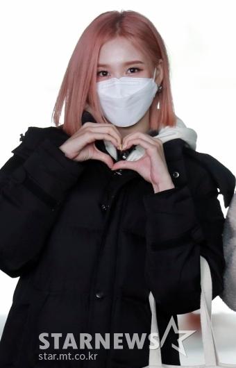 스테이씨 재이 '핑크빛 하트'[★포토]