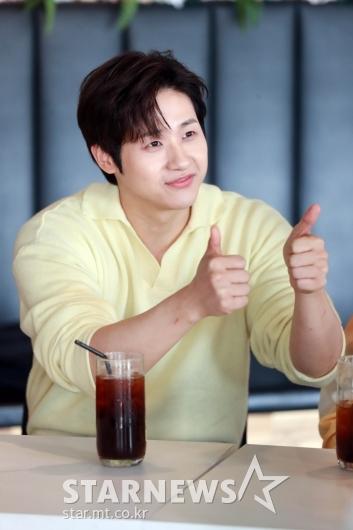 B1A4 신우 '린다-비룡 최고~'[★포토]
