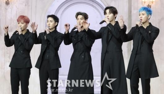 뉴이스트 '정규 앨범으로 컴백'[★포토]