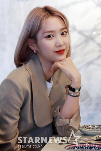 오마이걸 지호 '맛집투어 기대되요~'[★포토]