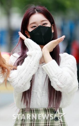 스테이씨 수민 '싱그러운 꽃받침'[★포토]