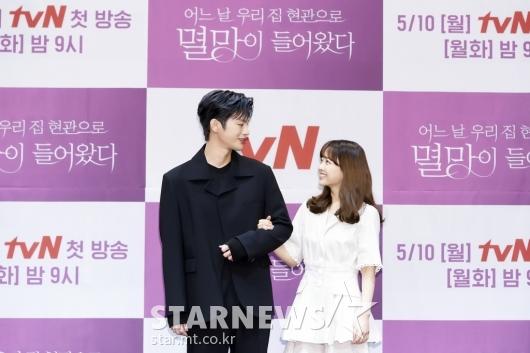서인국-박보영 '눈빛만 봐도 통해요'[★포토]