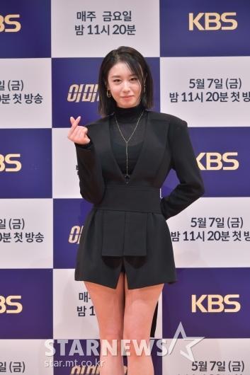 박지연 '깜찍브이'[★포토]