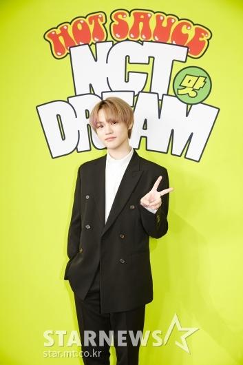 NCT DREAM 천러 '더 멋져졌죠?'[★포토]