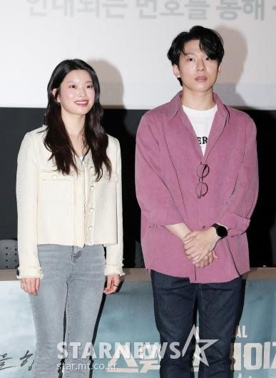 김수하-양희준 '스크린 개봉 떨려요'[★포토]