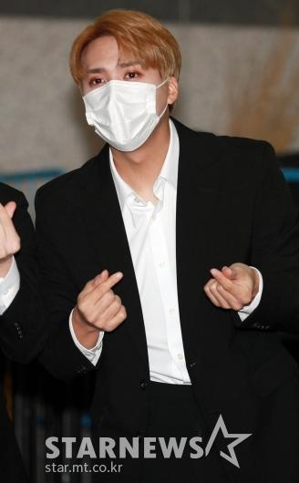 하이라이트 손동운 '깔끔한 수트'[★포토]