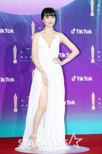박하선 '과감한 드레스'[★포토]