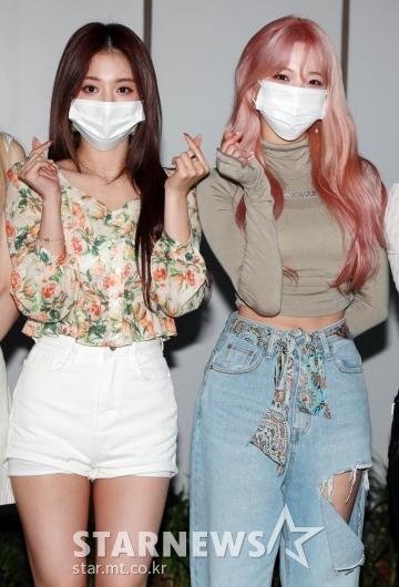 이나경-백지헌 '사랑스런 미모'[★포토]
