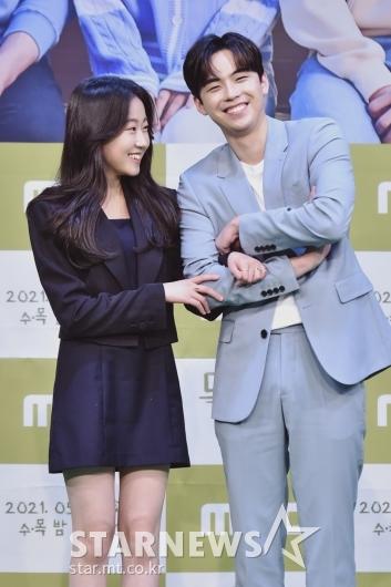 김환희-김도훈 '우리 진짜 친해요'[★포토]