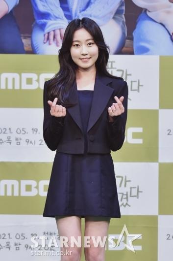 김환희 '깜찍한 손하트'[★포토]