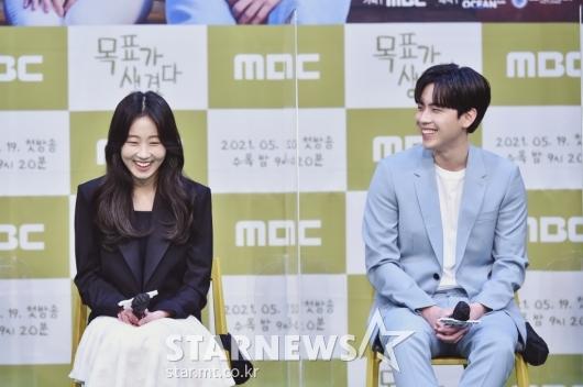 김환희-김도훈 '웃음 폭발!'[★포토]