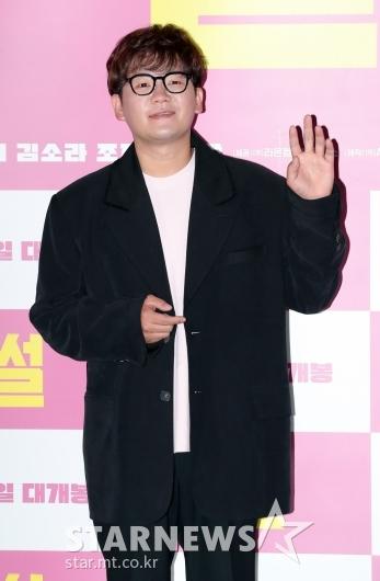 김강현 '영화 주연배우의 인사'[★포토]