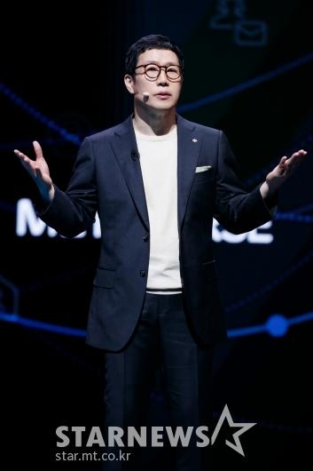 강호성 CJENM 대표 '5년간 5조원 콘텐츠 투자'[★포토]