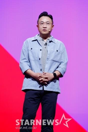 이명한 대표 '티빙, 아시아의 마블로 만들것'[★포토]