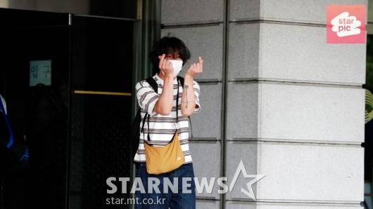 이상순 '12년만에 컴백 출근길' [영상]