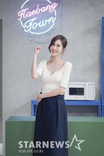 윤혜진 '잠시 해방!'[★포토]