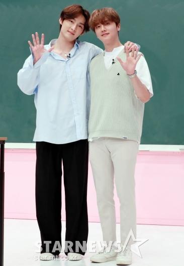 SF9 주호-영빈 '즐거운 수업 기대하세요'[★포토]