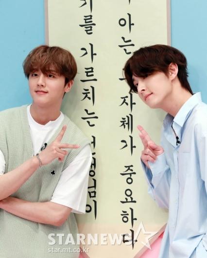 SF9 영빈-주호 '자체발광 비주얼'[★포토]