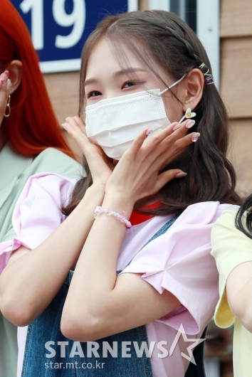라잇썸 휘연 '귀엽고 예쁘게!'[★포토]
