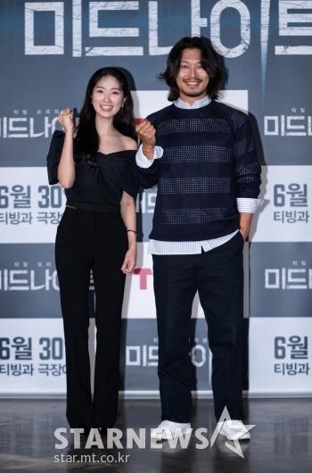 김혜윤-박훈 '미드나이트 화이팅'[★포토]