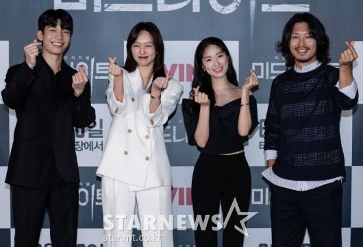 위하준-진기주-김혜윤-박훈 '미드나이트, 사랑해주세요'[★포토]