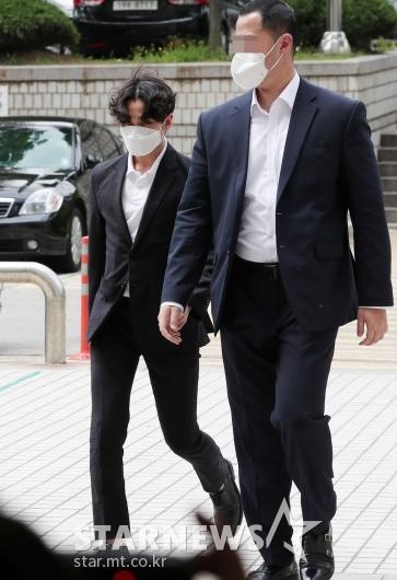 '대마초 흡연' 실형 2년 선고 받은 정일훈 [★포토]