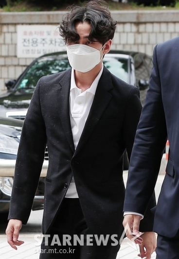 '대마초 흡연' 정일훈, 실형 2년 선고 [★포토]