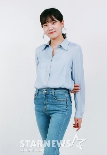 이하은 '청바지만 입어도 예쁘죠?'[★포토]