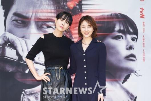 이하나-손은서 '보이스4 미녀들'[★포토]