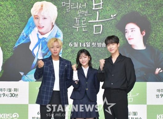 박지훈-강민아-배인혁 '멀푸봄, 화이팅'[★포토]
