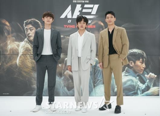 정원창-김민석-위하준 '샤크, 기대하세요'[★포토]