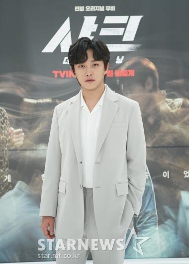 김민석 '표정은 샤크하게'[★포토]