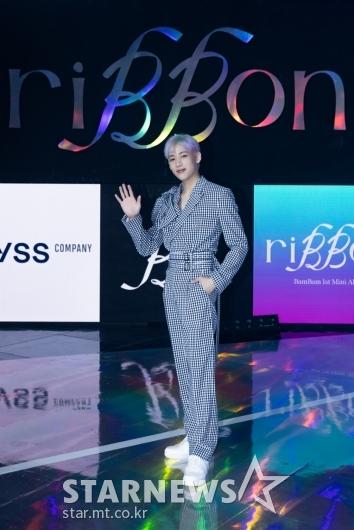 뱀뱀 'riBBon 발매, 솔로 출격'[★포토]
