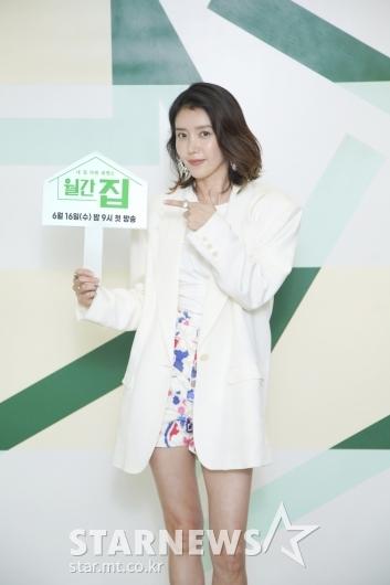 채정안 '본방사수' [★포토]