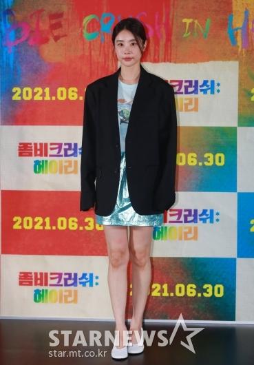 박소진 '오늘 패션은 오버핏'[★포토]