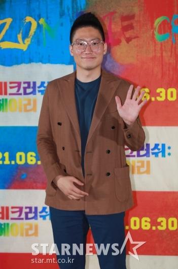 포즈 취하는 '좀비크러쉬: 헤이리' 장현상 감독[★포토]