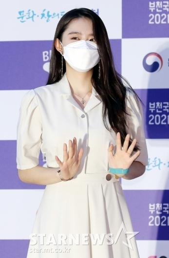 김소혜 '마스크 써도 예쁜 미모' [★포토]