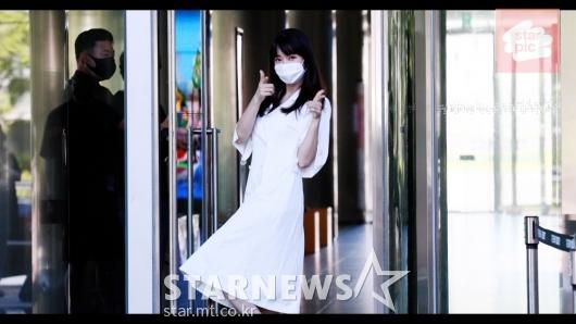 공소원 '아침부터 미모가 활짝!'[영상]