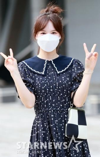 레드벨벳 웬디 '깜찍한 브이!'[★포토]