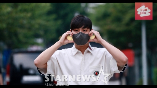 MSG워너비 박재정 '귀여운 볼하트!'[영상]