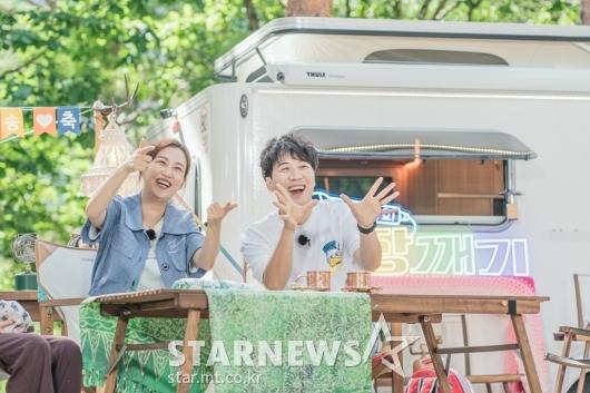 장윤정-도경완 '즐거운 도장깨기'[★포토]