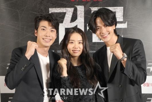 홍진기-김소혜-이정형 '파이팅!' [★포토]