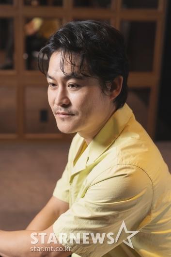 영화 '싱크홀' 개봉 앞둔 배우 김성균 [★포토]