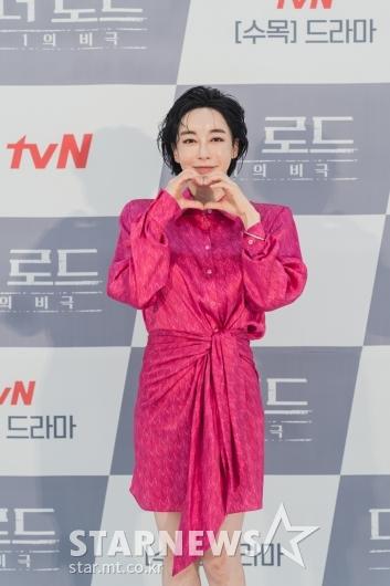 김혜은 '사랑스런 손하트'[★포토]