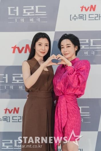 윤세아-김혜은 '더 로드, 사랑해주세요'[★포토]