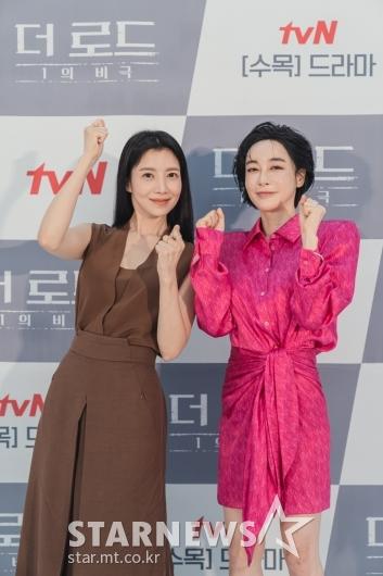 윤세아-김혜은 '더 로드, 화이팅'[★포토]