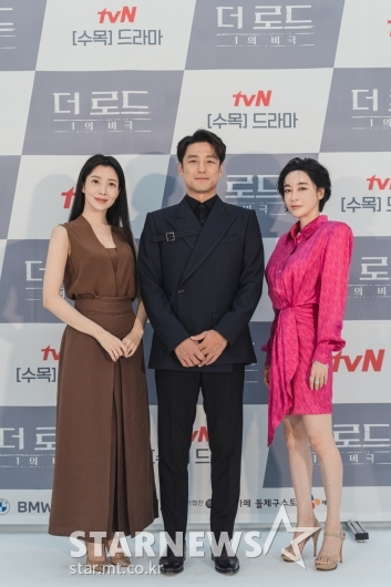 윤세아-지진희-김혜은 '더 로드 1의 비극 주역들'[★포토]