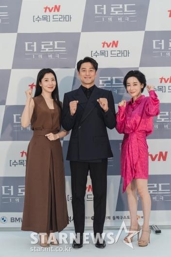 윤세아-지진희-김혜은 '더 로드, 화이팅'[★포토]
