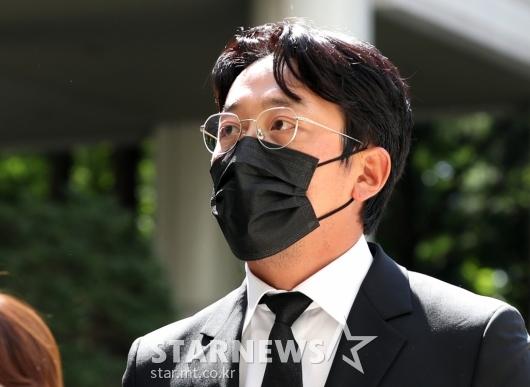 '1심 3000만원 벌금형' 배우 하정우[★포토]