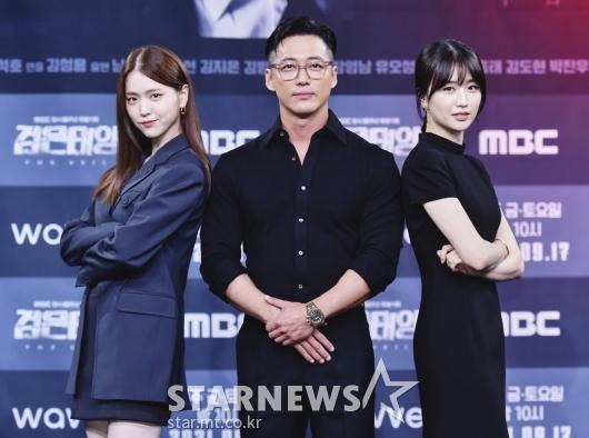 김지은-남궁민-박하선 '검은태양 주역들'[★포토]